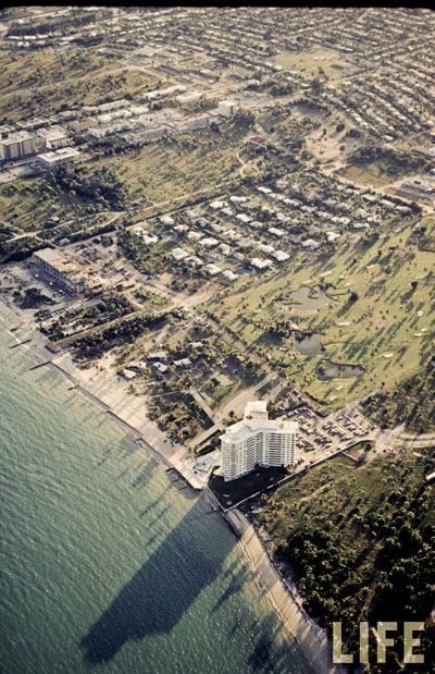 Island House with Key Colony golf course