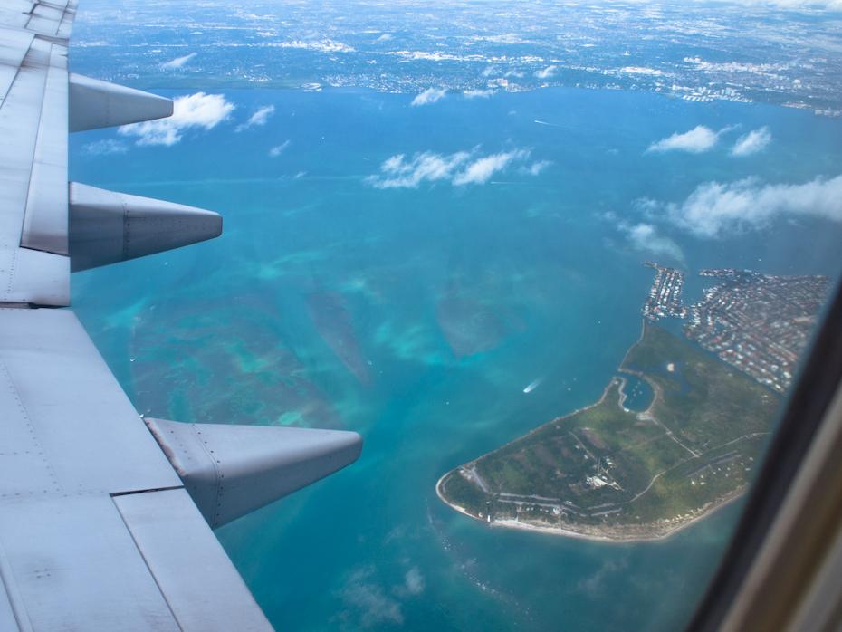Leaving on a Jet Plane Key Biscayne