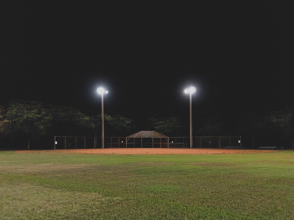 Baseball field at Crandon Park