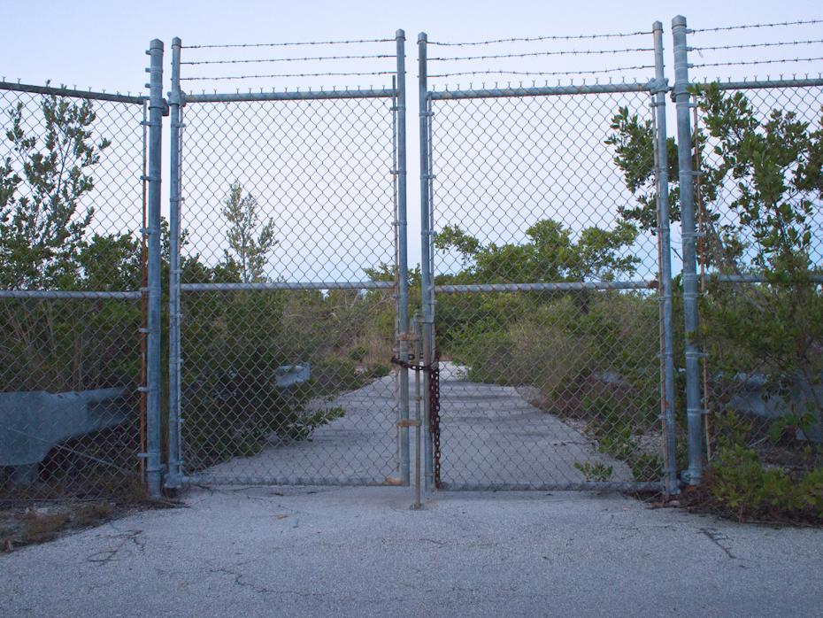 Bear Cut Gate Key Biscayne