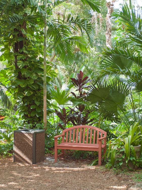 Botanica Bench Key Biscayne