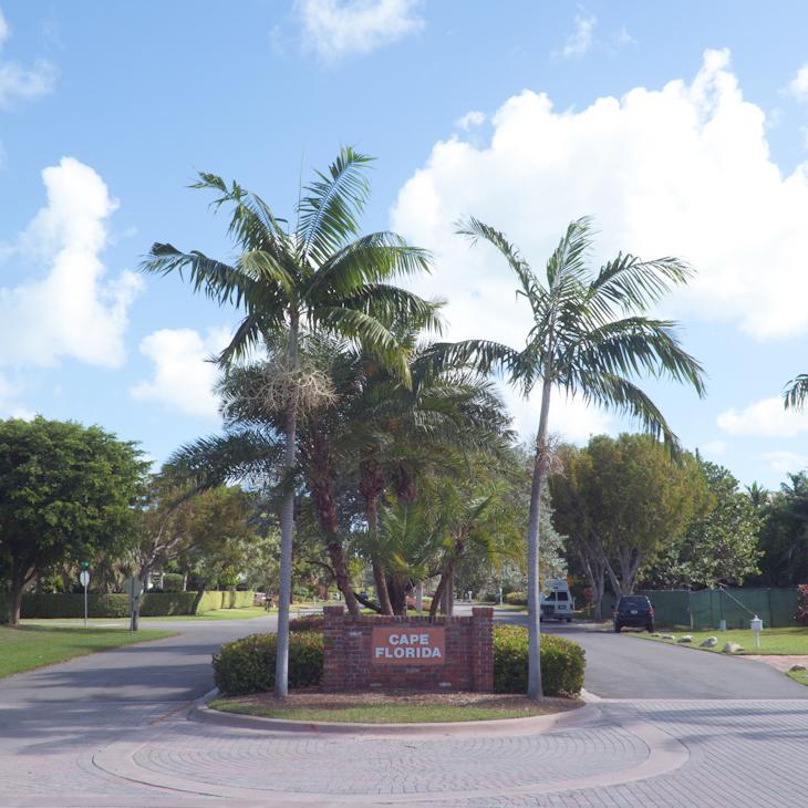 Cape Florida Sign Key Biscayne