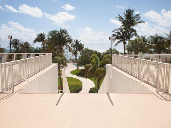 Casa del Mar Beach Stairs