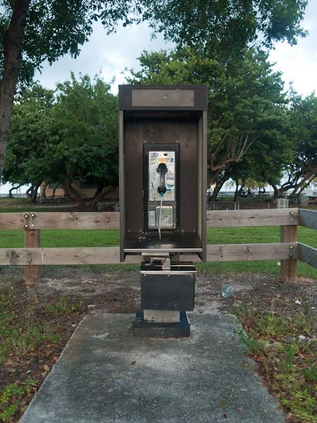 Crandon Park Payphone