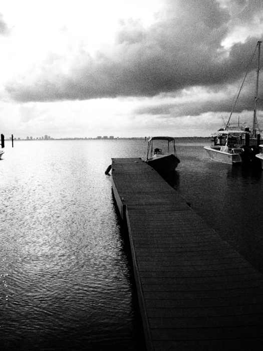 Dock at the Key Biscayne Yacht Club