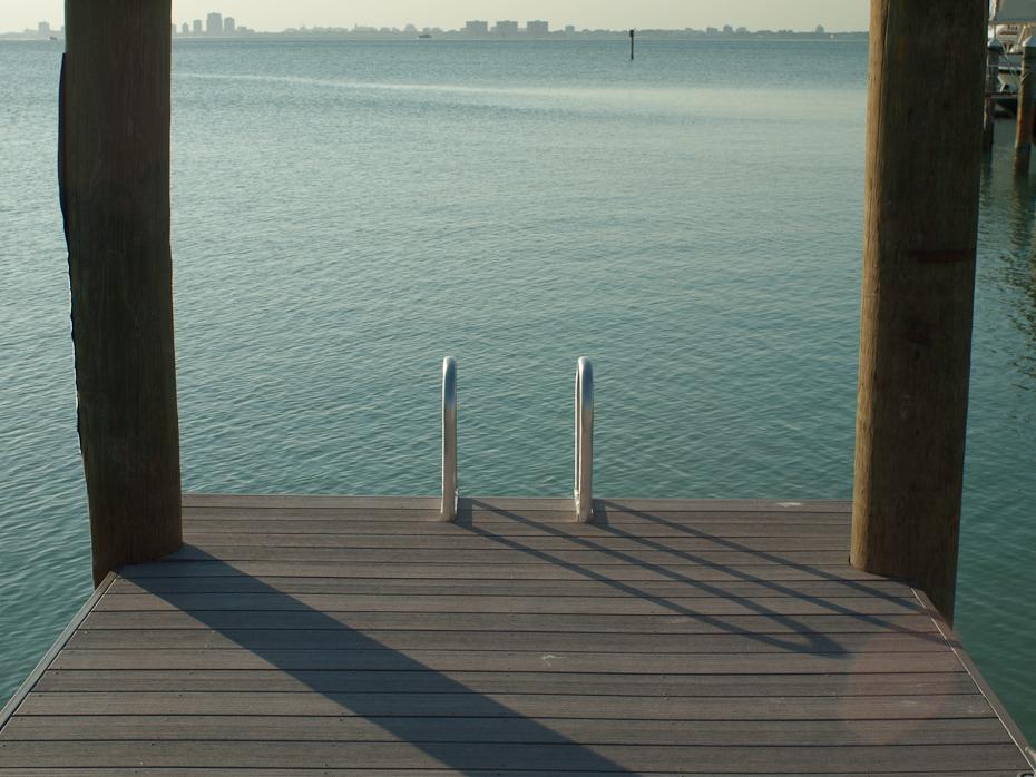 Dock Ladder KBYC Key Biscayne