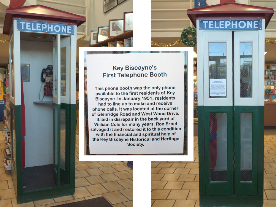 First Phonebooth Key Biscayne