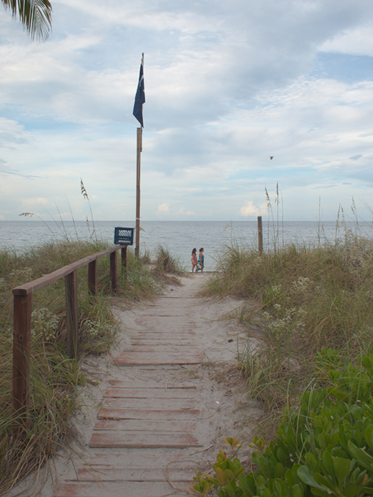 End of the Galen Beach Path