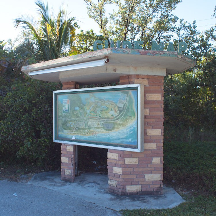 Guide Map Key Biscayne