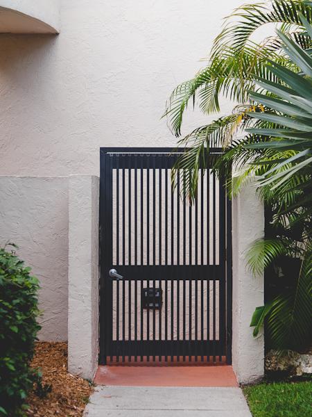 Key Colony gate