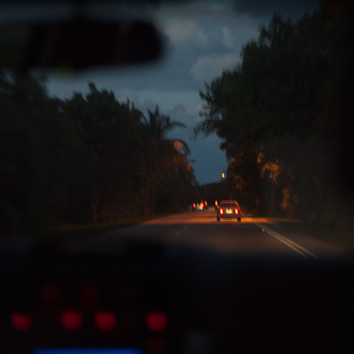 Leaving Key Biscayne