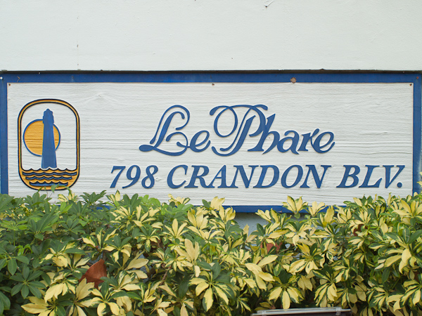 Le Phare Sign Key Biscayne