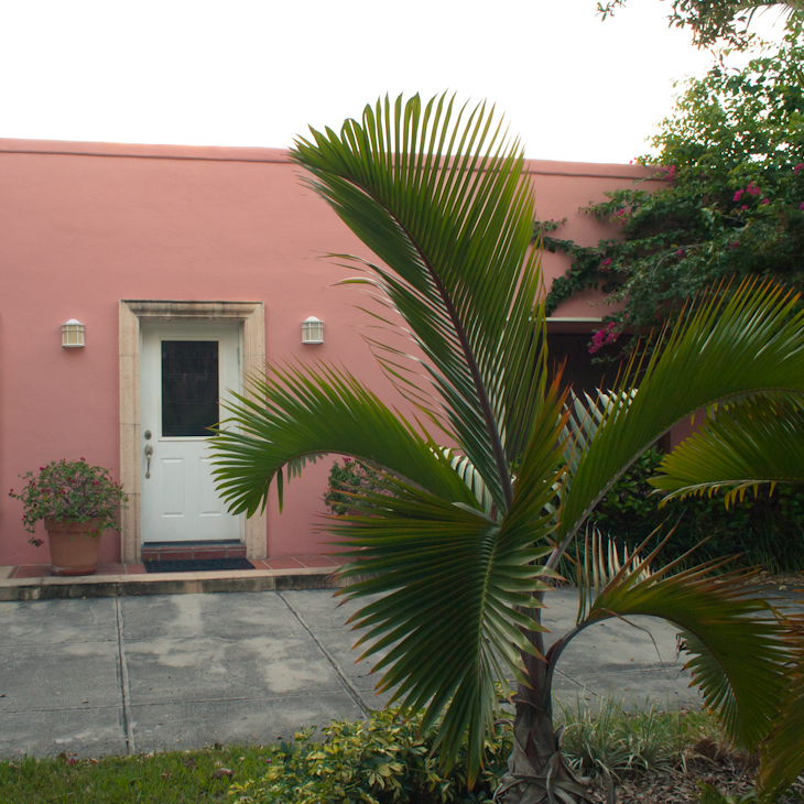 Pink House Key Biscayne