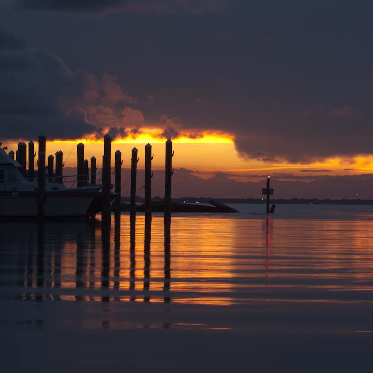 Sunset Docks Key Biscayne