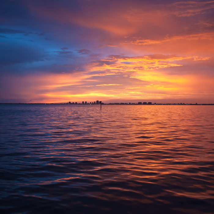 Sunday Sunset Key Biscayne