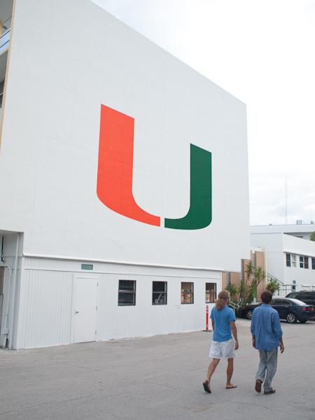 The U Virginia Key University of Miami RSMAS