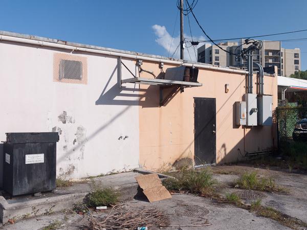 Ugly back alley