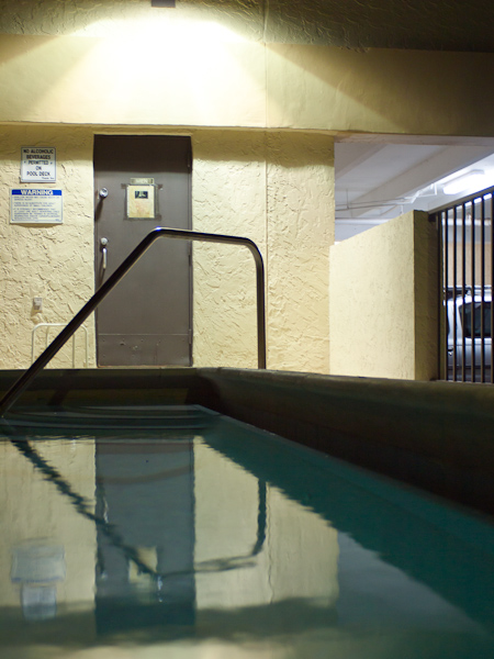 Unremarkable Pool Scene Key Biscayne