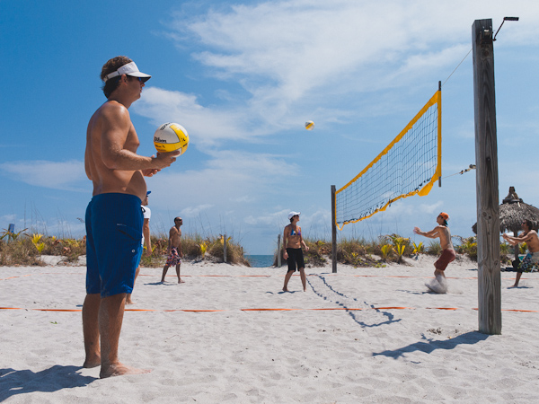 Volleyball at the Beach Club